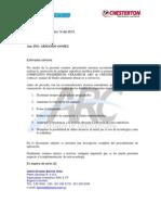 Procedimiento de aplicación Compuestos ARC Chesterton Metal