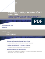 Protecciones, Calibración y Análisis - Ing. Julio Cesar Batista
