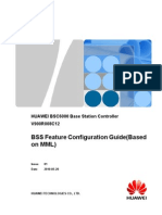 BSS Feature Configuration Guide(Based on MML)(V900R008C12_01)
