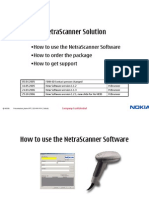 How to Use NetraScanner (New Version)