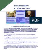 FILOSOFÍA MODERNA (KANT - ILUSTRACION)
