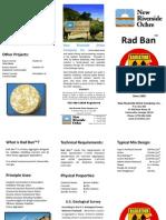 NROchre Rad Ban heavy aggregate Barite brochure