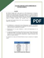 PRINCIPALES VIAS DE COMUNICACIÓN TERRESTRE EN CENTROAMERICA