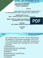 Impacto de Las Modalidades en El Contrato Preparatorio1