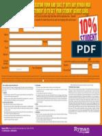 Genius Student Card Application
