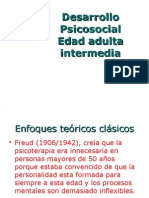 Desarrollo Psicosocial Adultez Inter Media