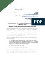 Wildfire Update June 17Contact