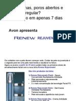 Avon Lançamento Renew Rejuvenate