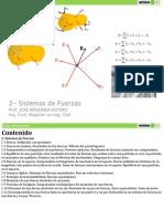 2- Sistemas de Fuerzas (1)