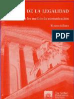 Cultura de La Legalidad El Papel de Los Medios de Comunicacion, Caso Siciliano