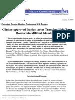 Bill Clinton's Bosnia Policy
