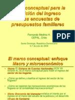 1 El Marco Conceptual Para La Medici El Ingreso ONE Julio 2006