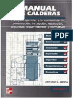 Manual de Calderas Vol. 1- Anthony L. Kohan