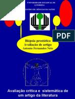 Biópsia da próstata_Avaliação Crítica de artigo