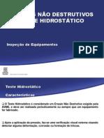 Teste Hidrostático