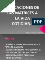 MATRICES PABLO LEDESMA MENCHÓN