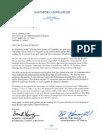 CA Legislators' Anti-BDS Letter