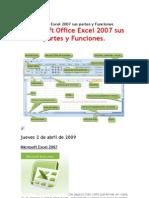 Microsoft Office Excel 2007 Sus Partes y