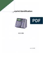 ACC-995 Manual 2009
