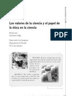 Dialnet-LosValoresDeLaCienciaYElPapelDeLaEticaEnLaCiencia-3654428