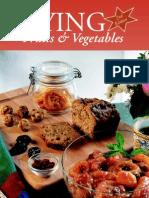 Drying Fruits and Veggies
