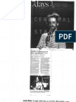 Denver Post Cerebral Stand Up