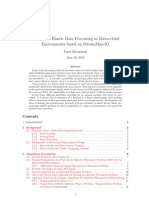 Large-scale Elastic Data Processing in Micro-cloud Environments based on StreamMine3G