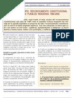 Abril 2006 Reconocimiento constitucional y estandares internacionales. Abril 2006