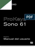Pro Keys Sono 61 UG (ES)
