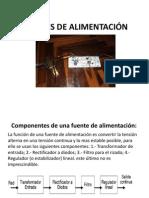 FUENTES DE ALIMENTACIÓN