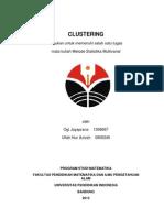 Analisis Clustering Ogi Jayaprana Dan Ulfah Nur Azizah