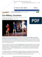 FP - Our Military, Ourselves