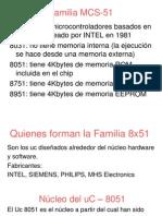 Familia MCS 51