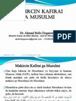 Makircin Kafirai Ga Musulmi