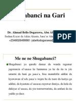 Shugabanci Na Gari
