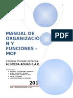 Completo Manual de Organizacion y Funciones =) Verdadero