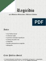 O Regicídio