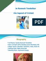 Mr. Sachin Tendulkar