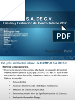 Ejemplo Estudio y Evaluacion Control Int