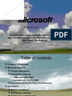 Microsoft (Strength and Weakness)
