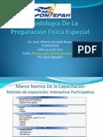 Metodolog+¡a De La Preparaci+¦n F+¡sica Especial Presentacion