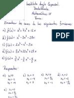Tarea ceros matemáticas 4