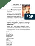 Cuestionario guía para el análisis de La agonía y el éxtasis