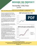 Kansas State Spending Policy Primer April 2009