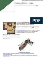 El diseño arquitectonico, definicion y etapas