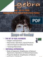 Algebra Aero Engr Board Review Lecture