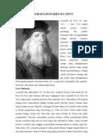 Biografi Leonardo Da Vinci