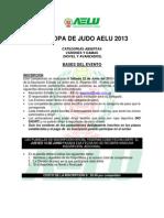 Bases x Copa Aelu Judo 2013