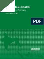 Annual TB Report 2013 SAE