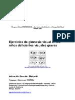 Ejercicios Gimnasia Ocular en Dvg Agm